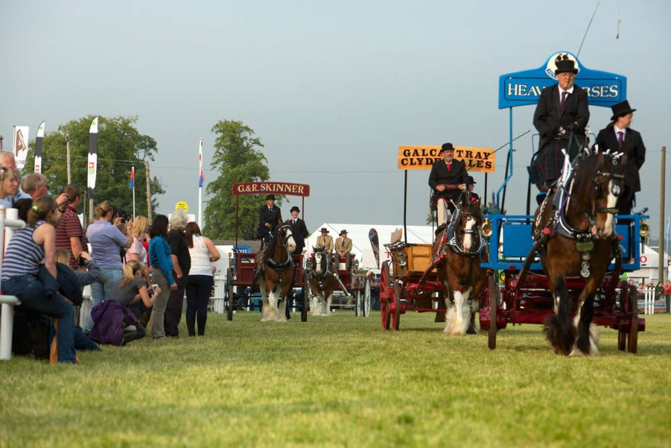 Best time for Royal Highland Show in Scotland
