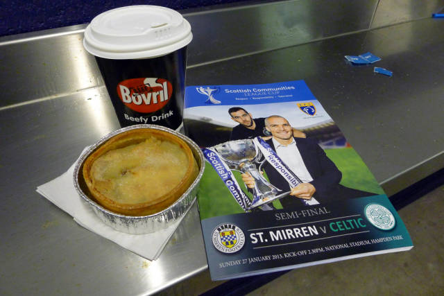 Scotch Pie and Bovril in Scotland - Best Season