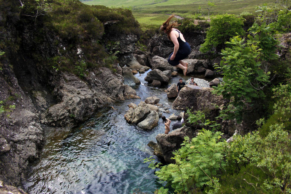 Fairy Pools of the Isle of Skye in Scotland - Best Season
