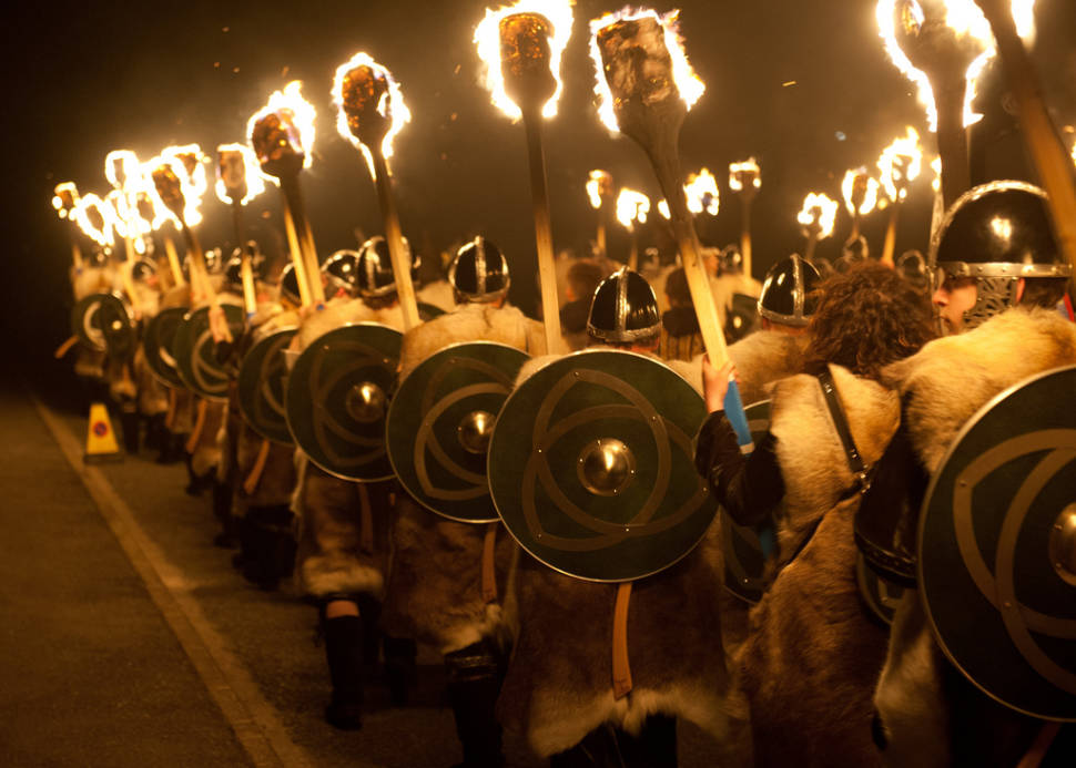 Up Helly Aa in Scotland - Best Time