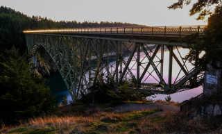 Deception Pass Bridge and Park