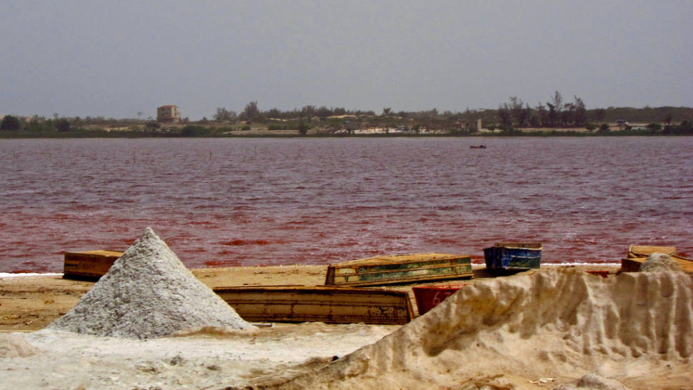 Pink Lake Retba in Senegal - Best Season