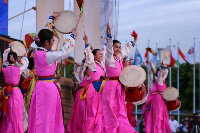 Best time for Hanseong Baekje Cultural Festival in Seoul