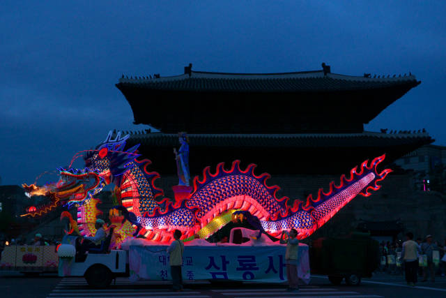 Best time to see Lotus Lantern Festival (Yeon Deung Hoe) in Seoul