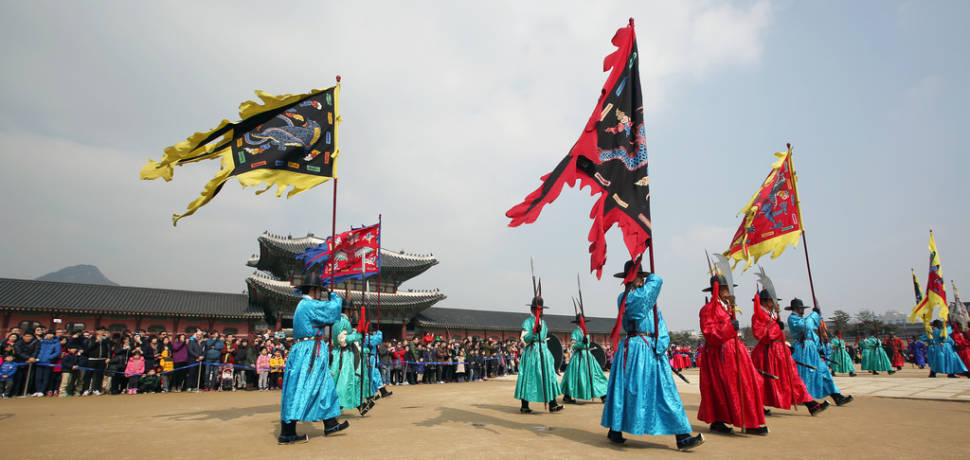 Best time for Lunar New Year in Seoul