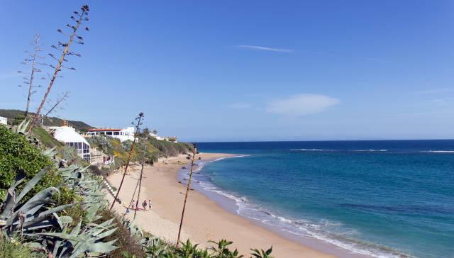 La Playa del Pirata in Caños de Meca, Cadiz