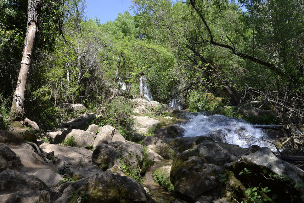 Cascadas del Hueznar in Seville - Best Season