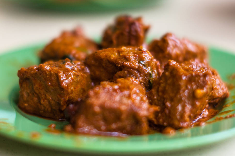 Malay Spicy Meat Rendang in Singapore - Best Season