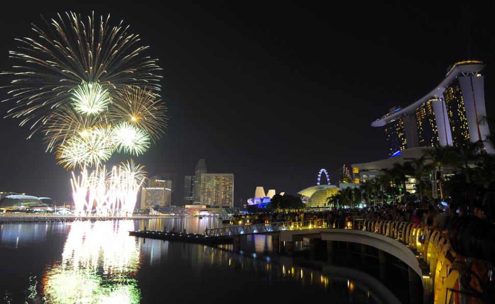 Marina Bay Singapore Countdown in Singapore - Best Season