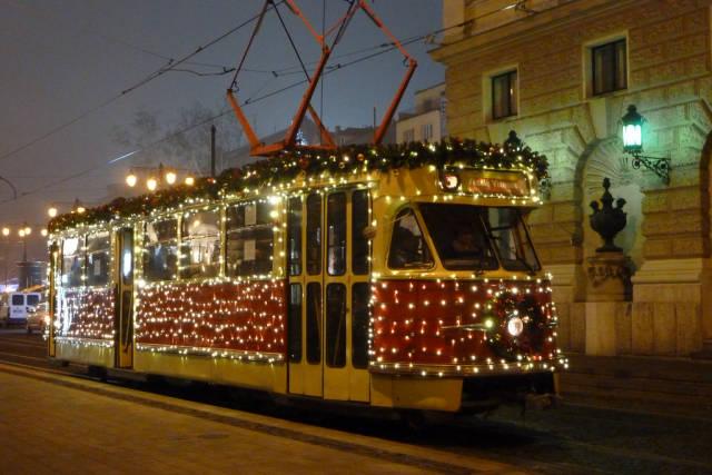 Christmas Tram in Bratislava in Slovakia - Best Time