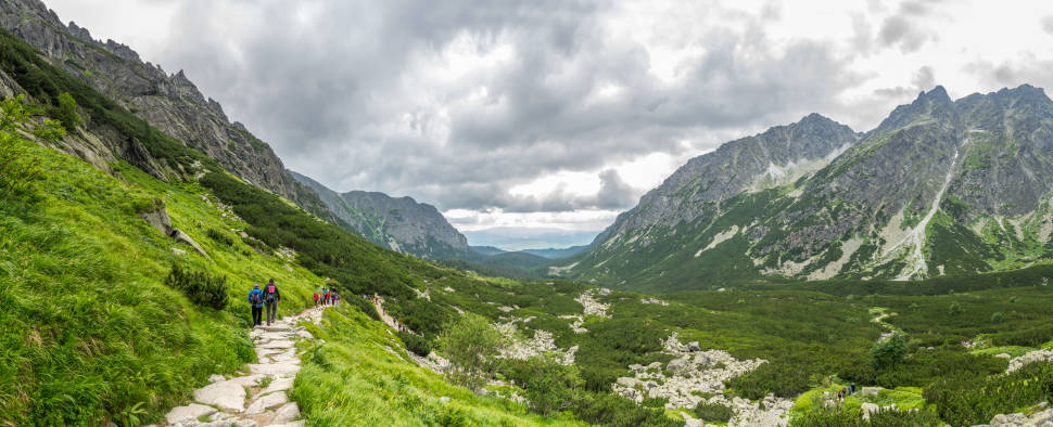Best time to see Hiking in the Tatra Mountains in Slovakia