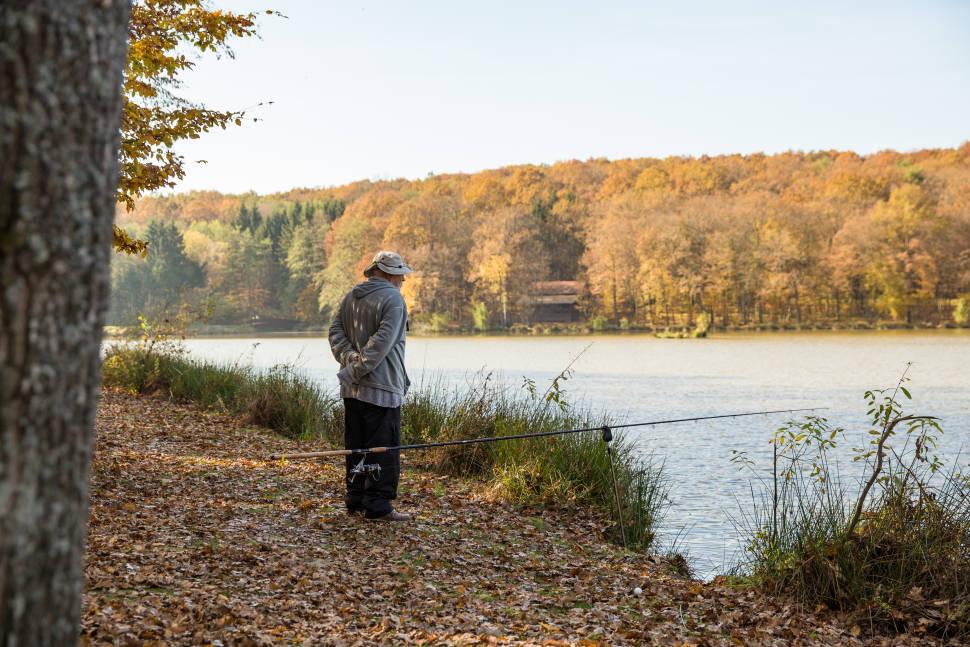 Fishing on Mura River