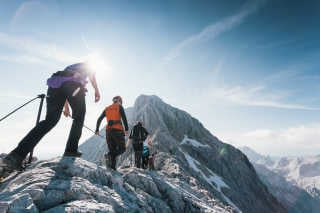Climbing Triglav