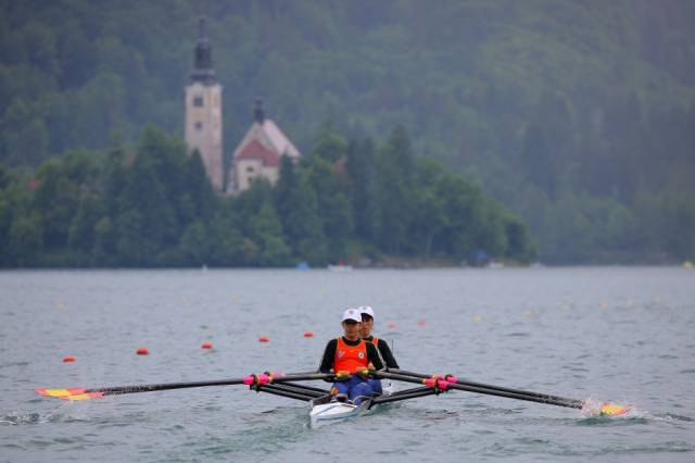 Best time for International Rowing Regatta in Slovenia