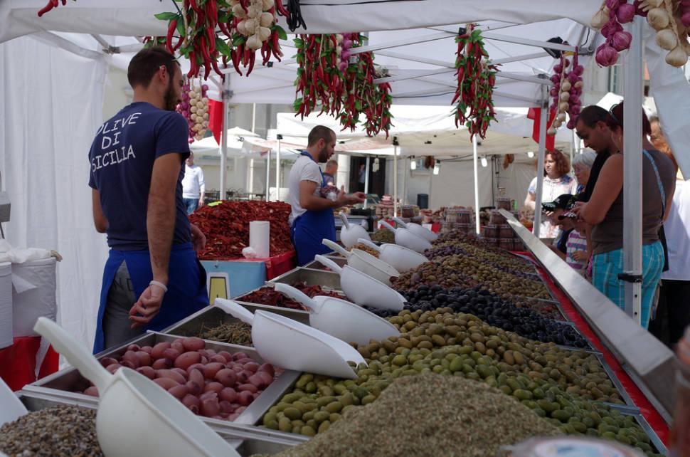 Market in Piran
