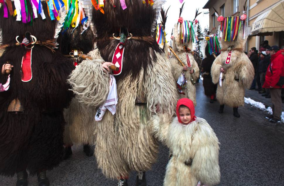 Best time for Pust Carnival in Cerknica in Slovenia