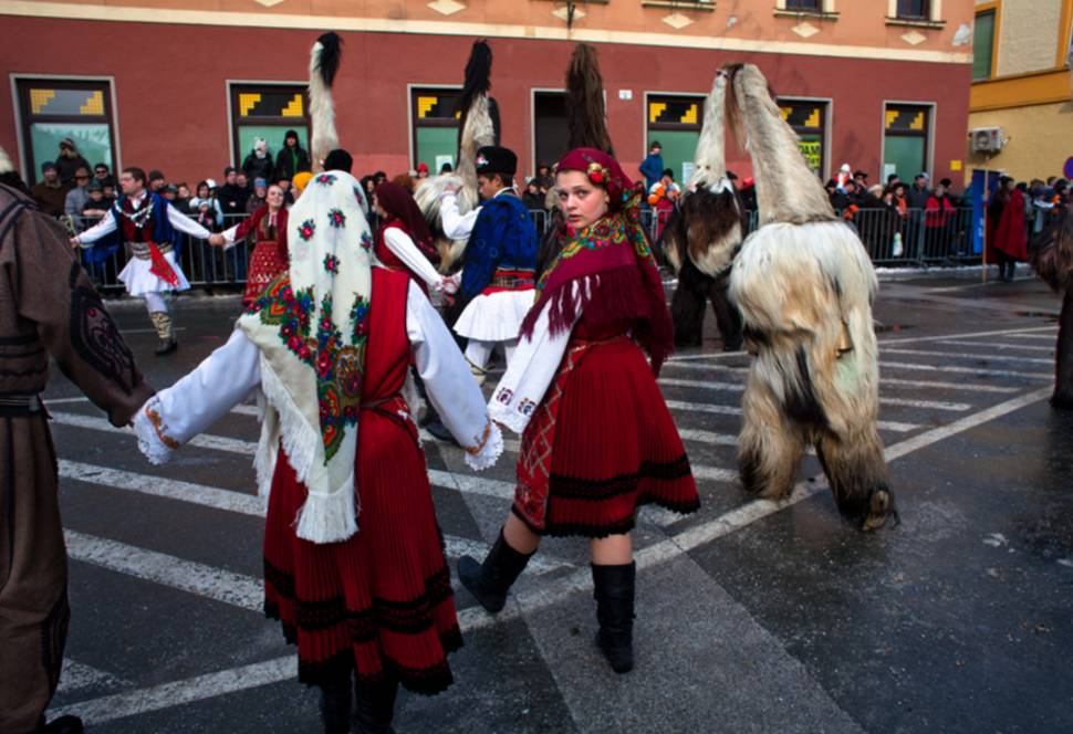 Best time for Pust Carnival in Cerknica
