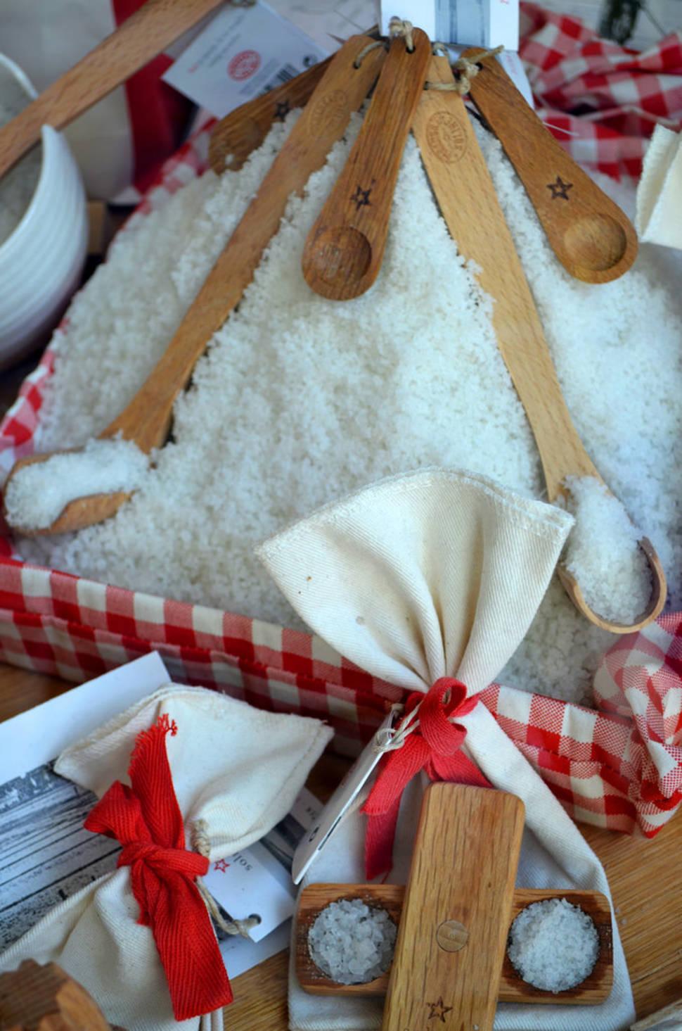 Best time for Salt Harvest in Slovenia