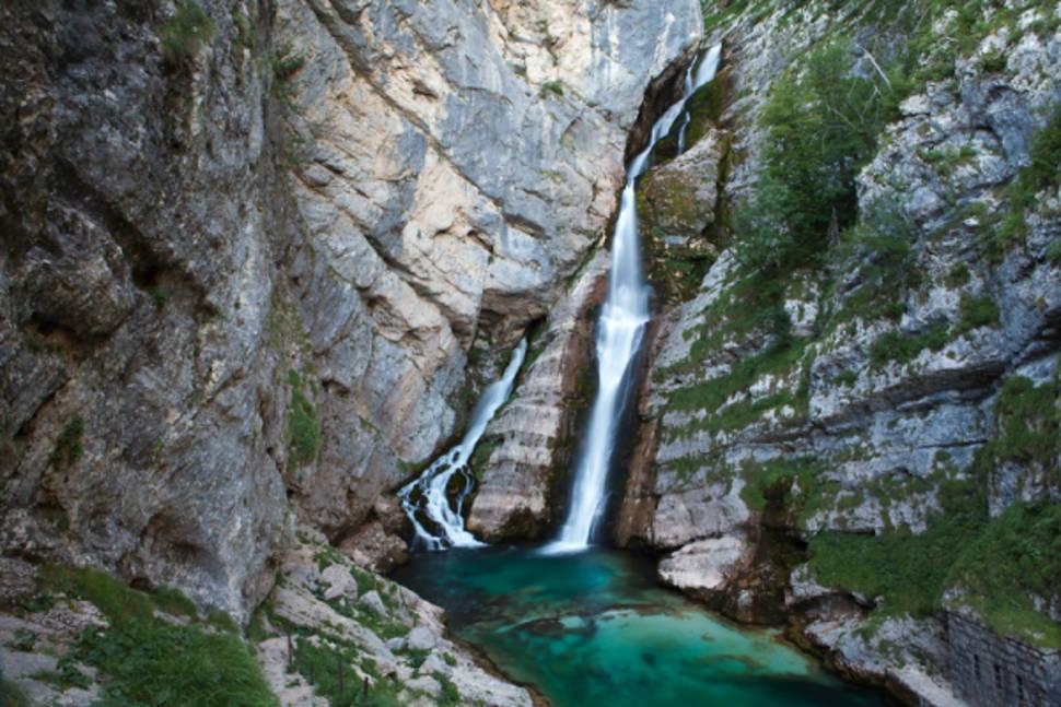 Savica Waterfall