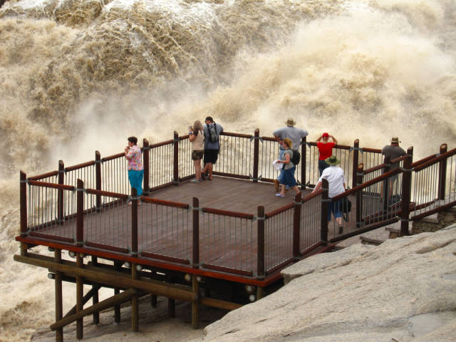 Augrabies Falls viewing platform