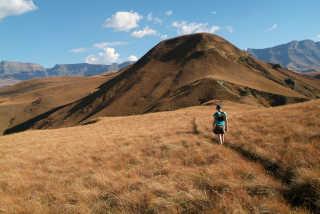 Hiking in Drakensberg