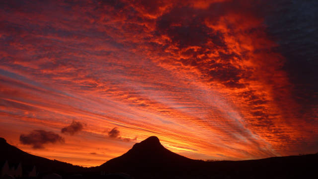 Red Sunsets in South Africa - Best Time