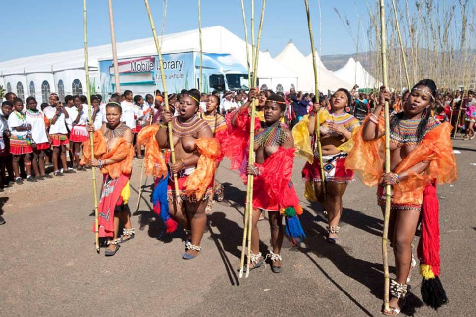 Zulu Reed Dance in South Africa - Best Season
