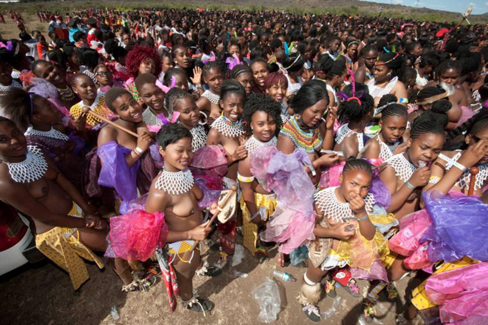 Zulu Reed Dance in South Africa - Best Time