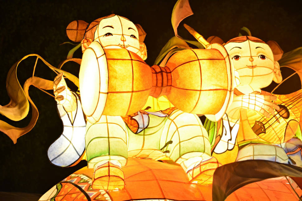 Jinju Namgang Yudeung Festival in South Korea - Best Season