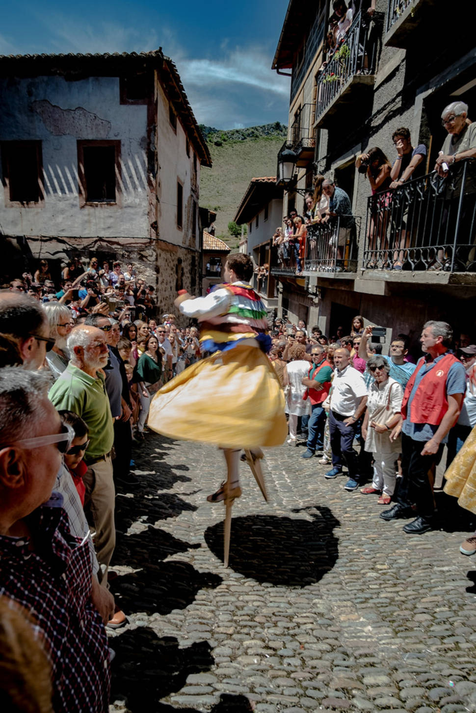 Best time to see Anguiano Stilt Dance in Spain