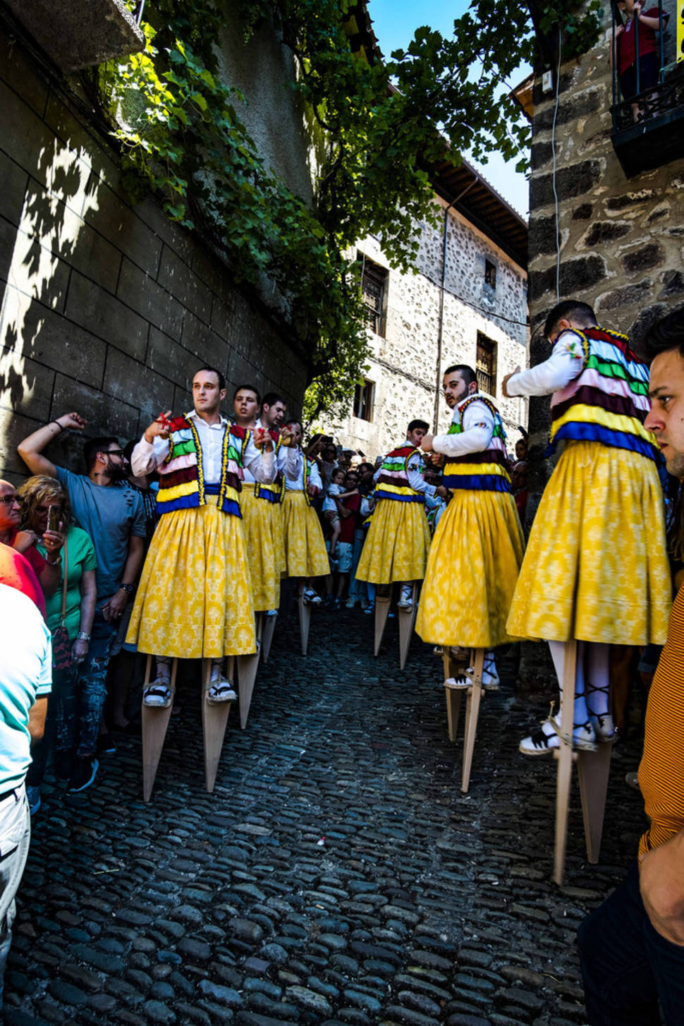 Best time for Anguiano Stilt Dance in Spain
