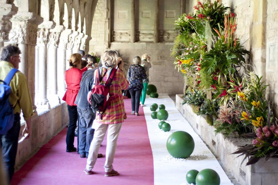 Best time for Girona Flower Festival