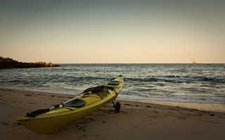 Kayaking in Galicia