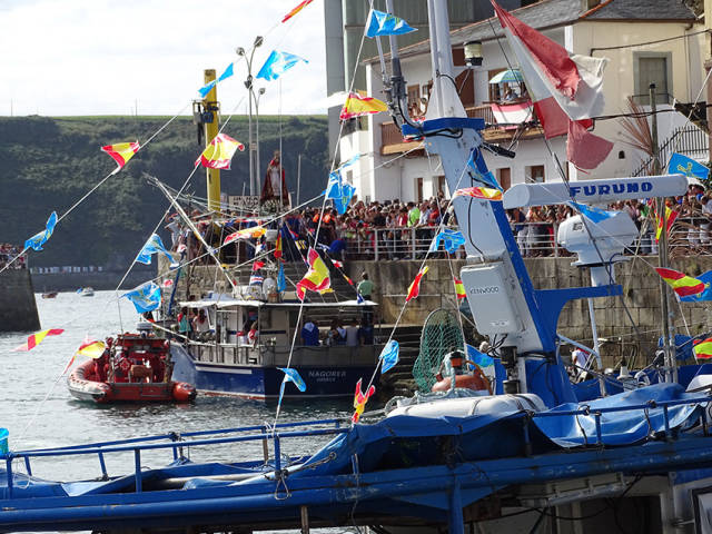 Luarca Maritime Procession of Virgen del Rosario in Spain - Best Season