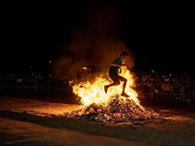 Best time for San Juan Bonfire Festival (Noche de San Juan)