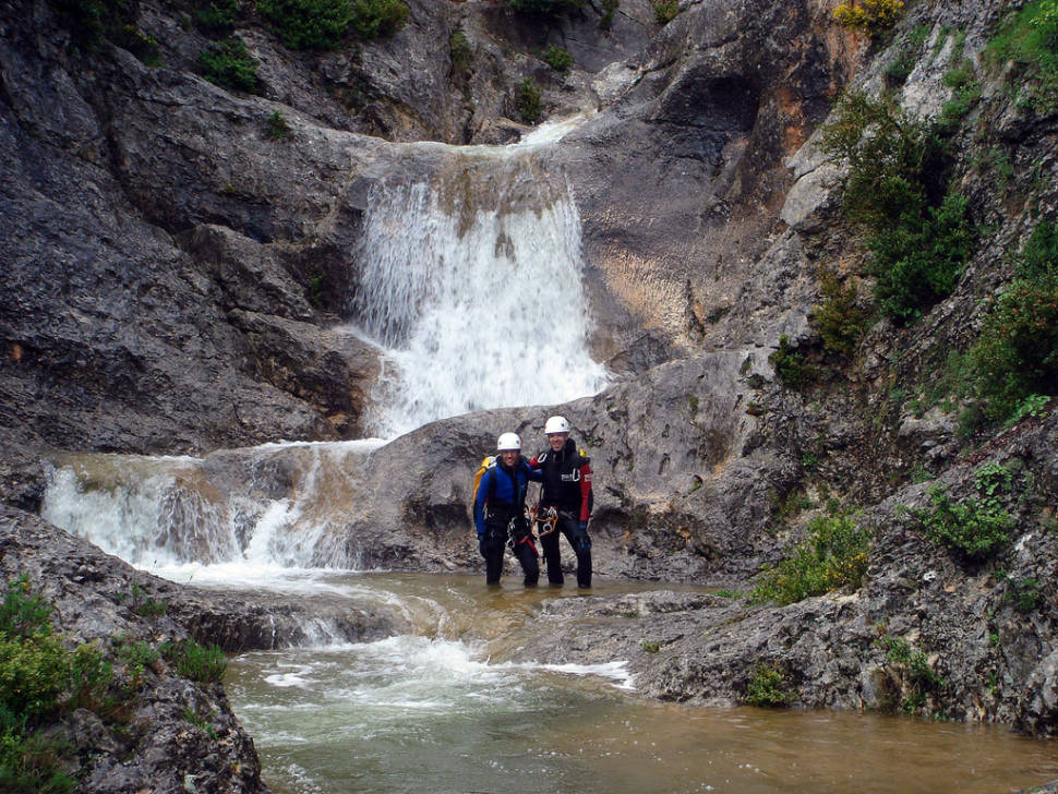 Best time for Canyoning in Sierra de Guara in Spain