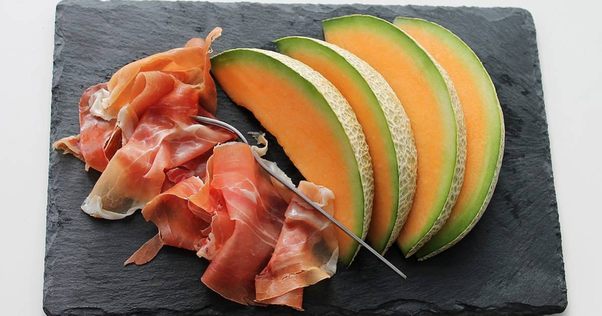 Spanish Ham (Jamón) with Melon in Spain - Best Time