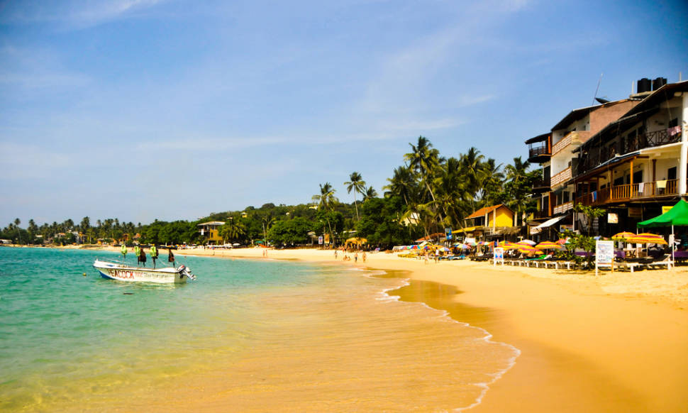 Beach Season on South and West Coast in Sri Lanka - Best Time