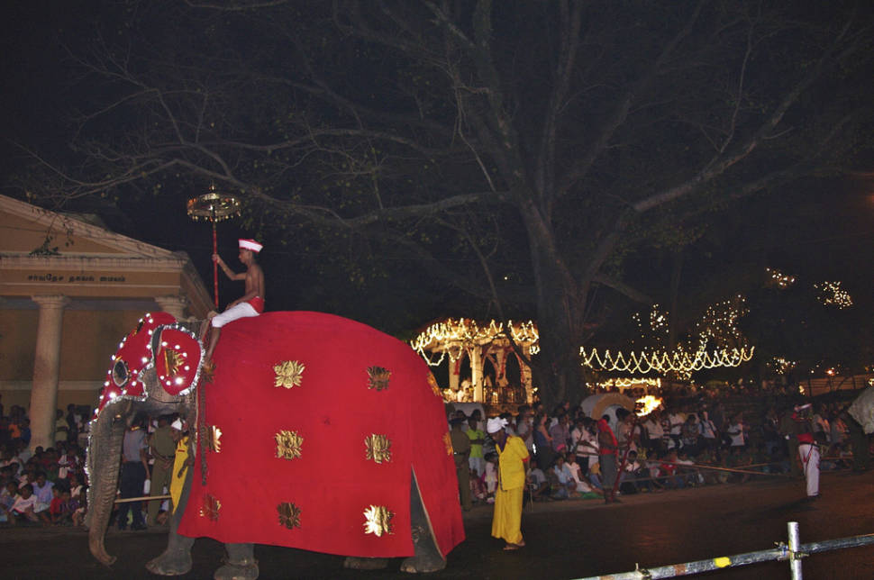 Best time for Kandy Esala Perahera