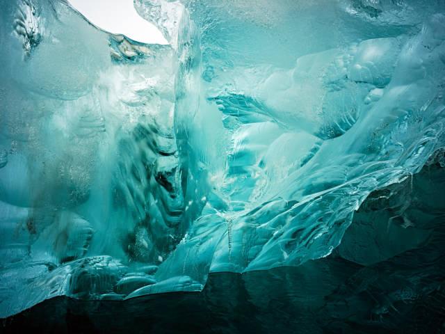 Ice Caving in Svalbard - Best Season