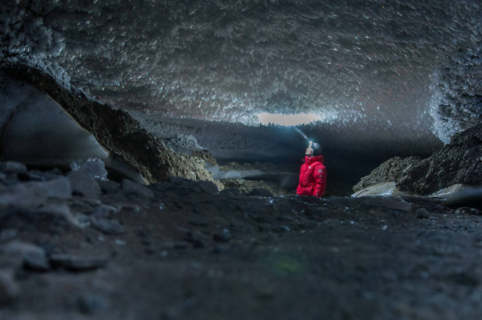 Ice Caving in Svalbard - Best Time