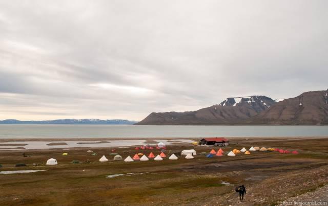Longyearbyen Camping in Svalbard - Best Time