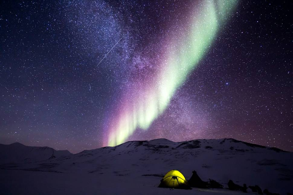 Northern Lights in Svalbard - Best Season