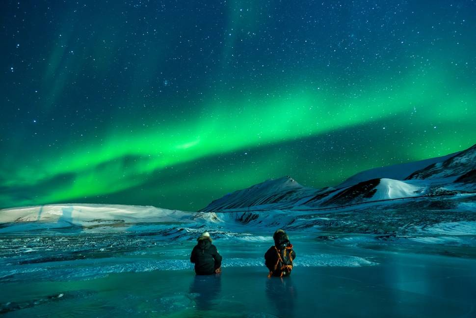 Northern Lights in Svalbard - Best Time