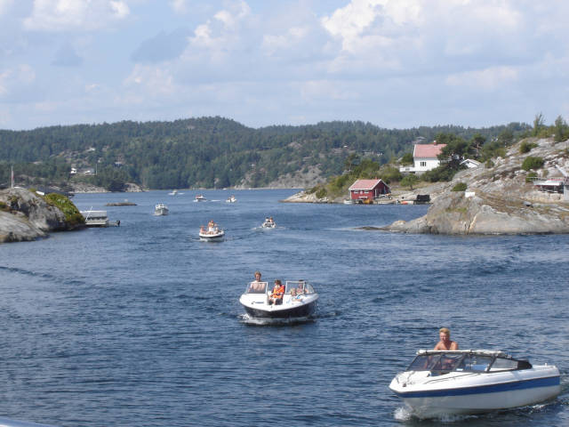 Best time for Boating in Sweden