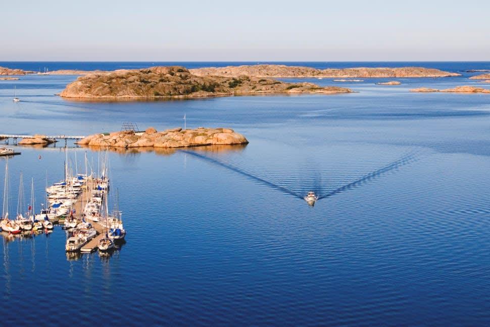 Boating in Sweden - Best Time