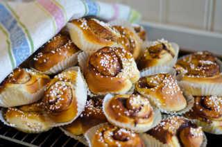 Kanelbullar or Cinnamon Rolls