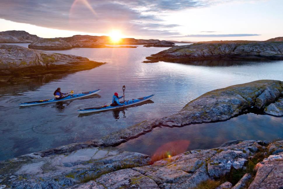 Paddling in Sweden - Best Time