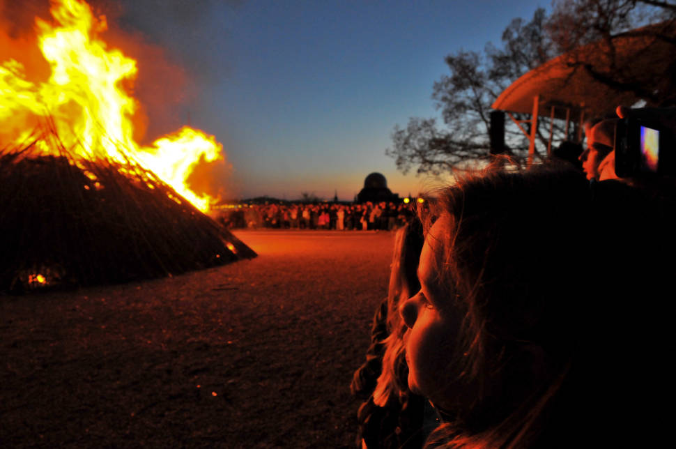 Best time to see Walpurgis Eve: Sista April in Sweden