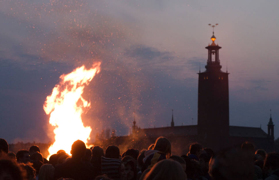 Best time for Walpurgis Eve: Sista April in Sweden